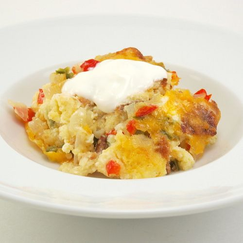 Cornbread Pudding-great for leftover cornbread. Made this tonight ...