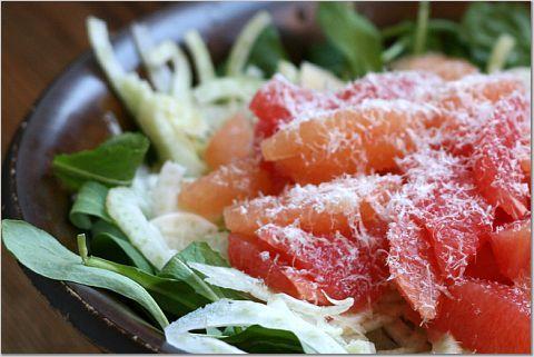 Grapefruit-Fennel Salad | comida y bebida. | Pinterest
