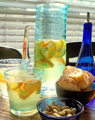 tropical spring sangria | Yummy Treats | Pinterest