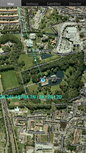 vision via satelite: