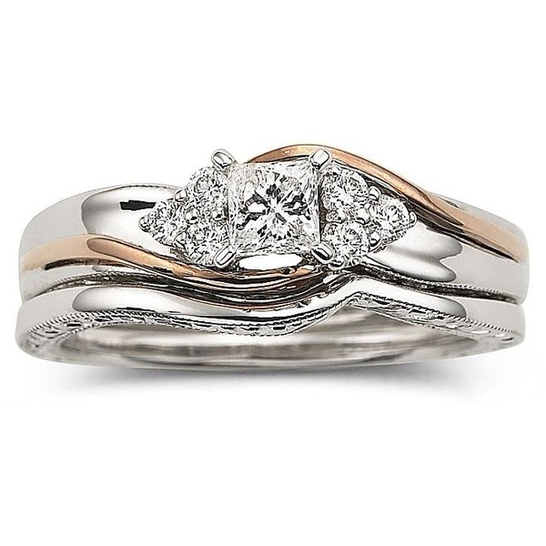 cherished hearts wedding ring set 34 ct - Wedding Rings Jcpenney