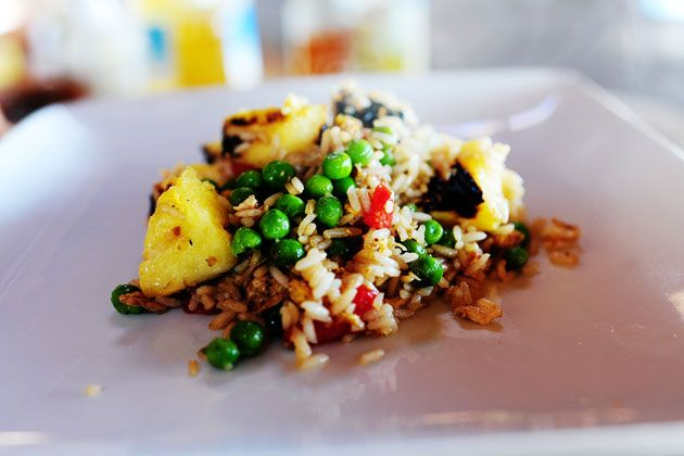 Pork Chops with Pineapple Fried Rice | Recipe