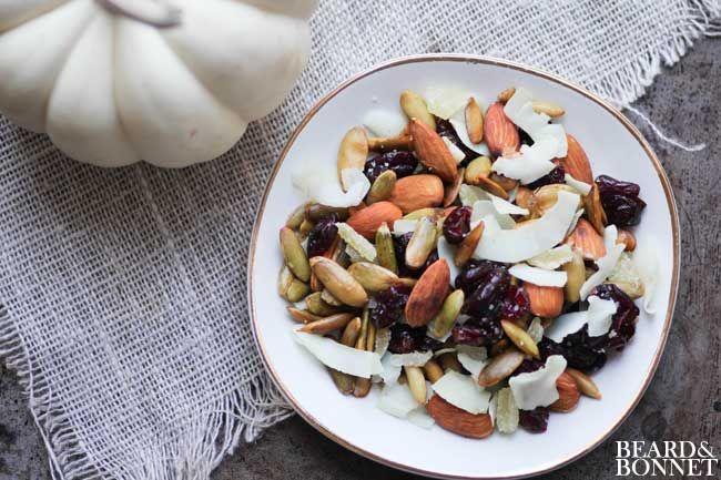 Pumpkin Seed Trail Mix (Gluten Free and Vegan) | Recipe