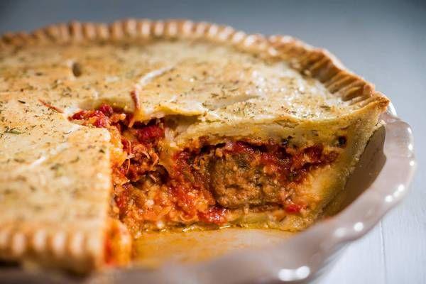 Meatball pie, sausage Apple Sage Pie | Food, Glorious Food | Pinterest