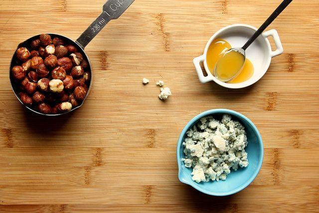 bleu chz, hazelnut & honey polenta... | Friggen FOOD! | Pinterest