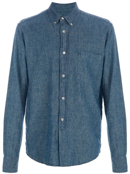OUR LEGACY // S Chambray Shirt