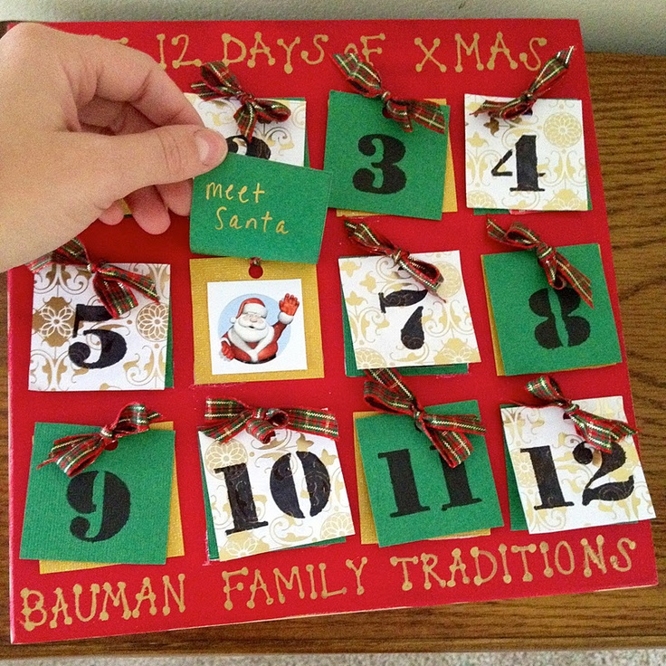 12 day christmas crafts for 12 days of christmas door decoration