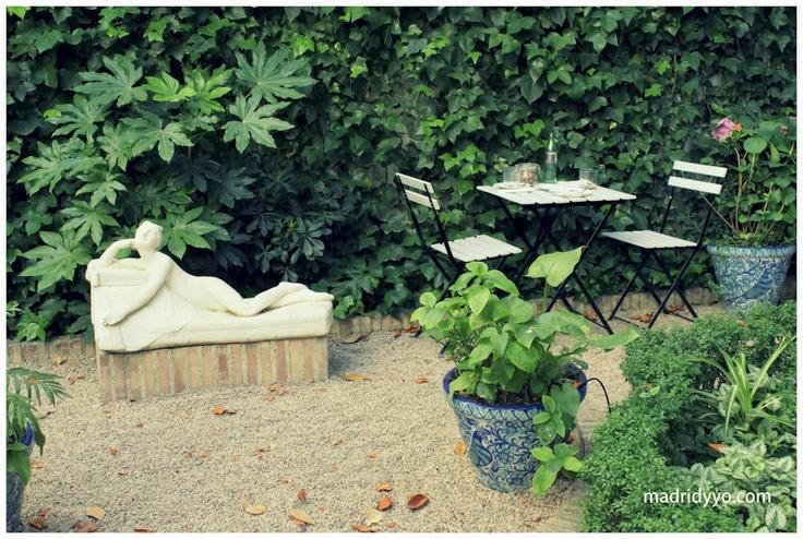Pin by maria v on madrid t y yo pinterest for Cafe el jardin madrid