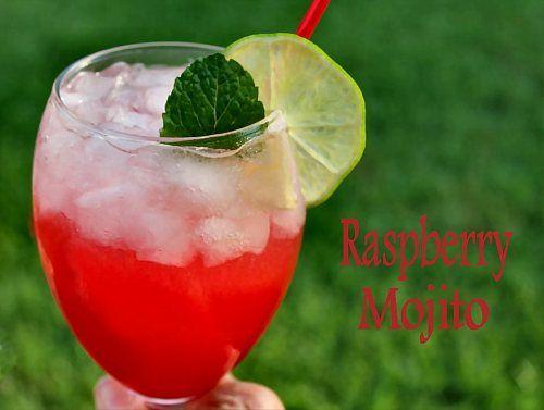 Cocktail Day 6 - Lavender Blueberry Lemonade & Raspberry Mojitos & Fu...