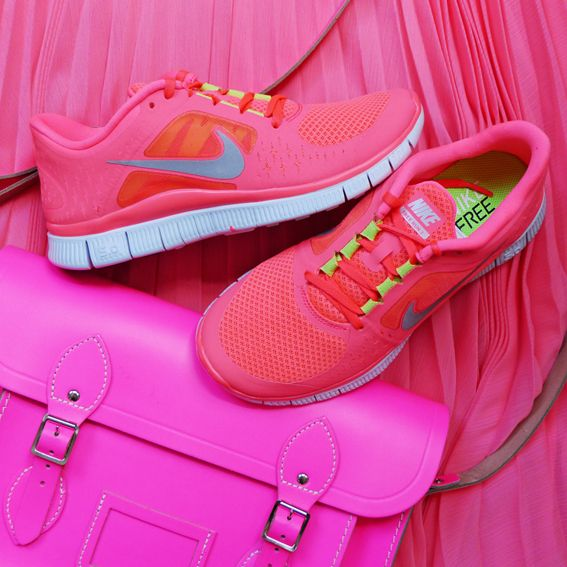 Sporty in pink