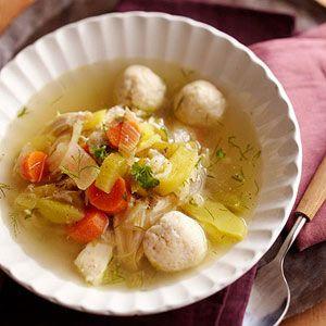 Chicken Soup with Matzo Balls | Recipe
