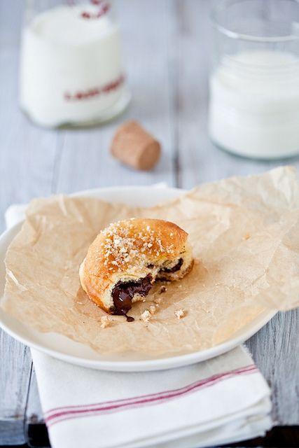 Mores Donuts by tartelette, via Flickr | Baking Recipes | Pinterest