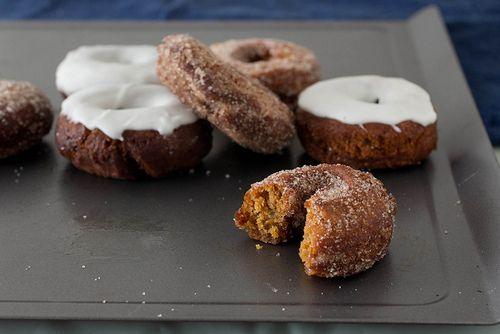 Gingerbread Doughnuts | Get Baked | Pinterest