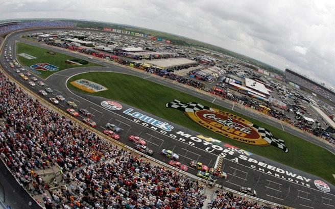 Charlotte Motor Speedway Race Tracks Pinterest