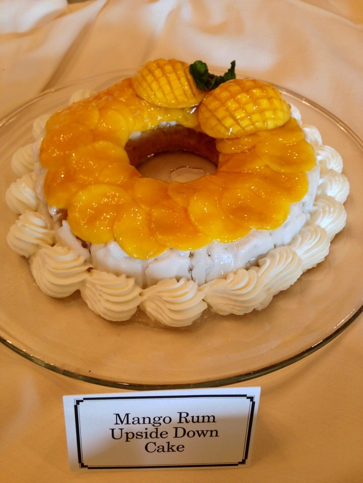 Mango-Rum Upside Down Cake | Fine Dining and Food Photography | Pinte ...