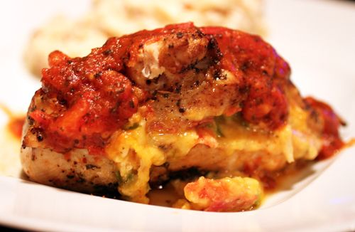 Habanero Pizza Stuffed Chicken Breasts | Food and Drinks | Pinterest