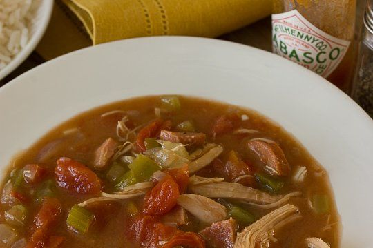 southern family recipe chicken amp andouille sausage gumbo recipes ...