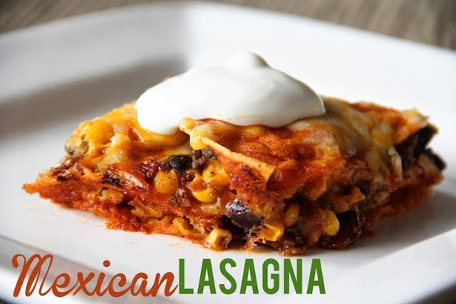 Lovely Little Snippets Mexican Lasagna