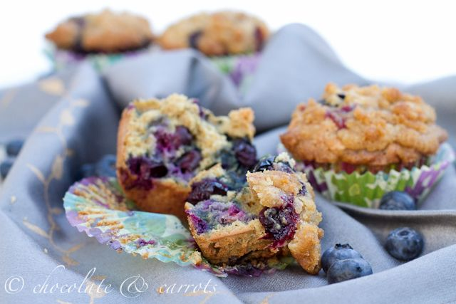Whole Wheat Blueberry Muffins | Favorite Recipes | Pinterest
