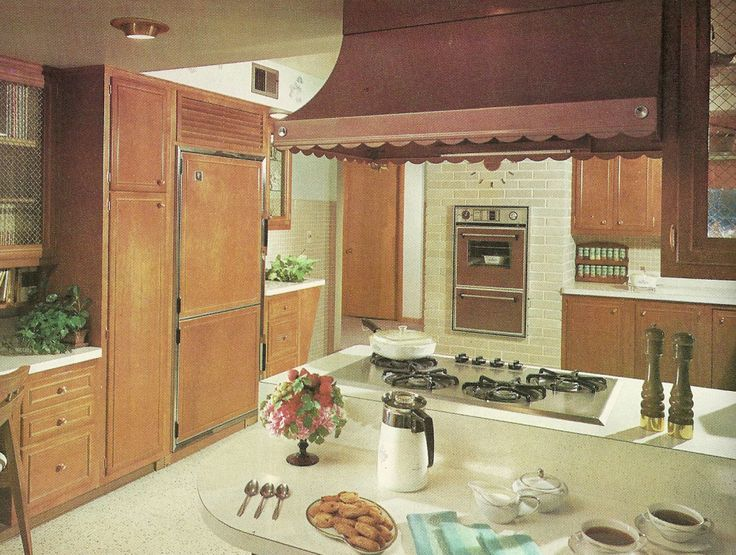 1960s kitchens vintage home decorating awesomeness for for 1960 kitchen cabinets