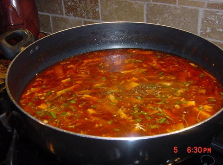 CHINESE HOT AND SOUR SOUP | Soup | Pinterest