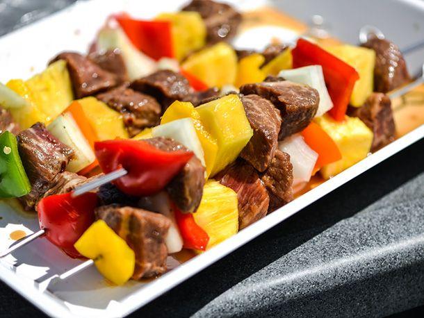 Hamburger Kebabs (Kabobs) Recipe — Dishmaps