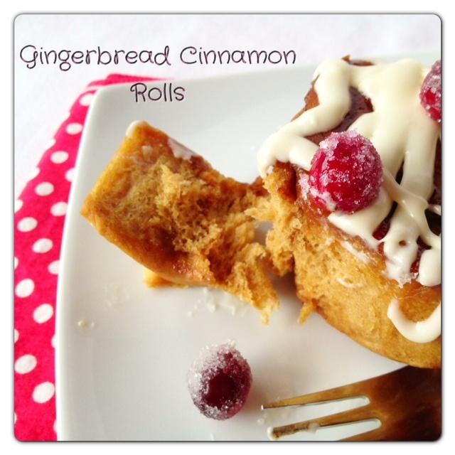... Daughter: Gingerbread Cinnamon Rolls...Day#4 of #Christmas Week