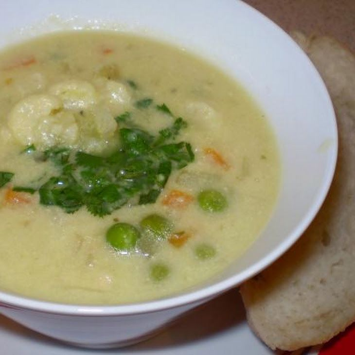 ... Cream of Cauliflower Soup (Vegan) Recipe take out the oil and it will