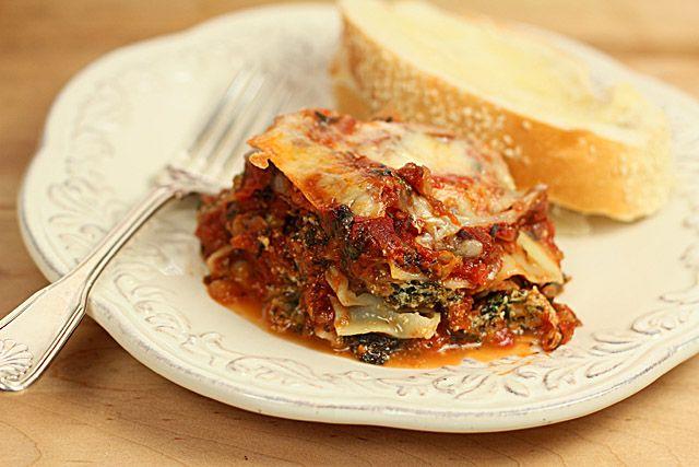Spinach Lasagna – A Great Vegetarian Alternative — Creative ...