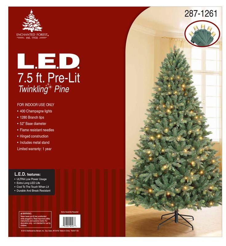 Seasonal Specialties Recalls Pre-lit Christmas Trees Due to Fire, Burn