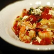 Orzo with Shrimp, Feta Cheese, and White Wine | Recipes | Pinterest
