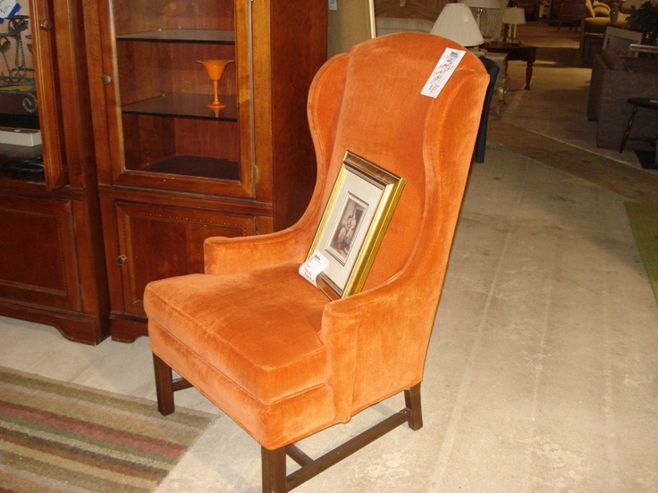 Cutest orange chair 65 jubilee furniture Jubilee furniture