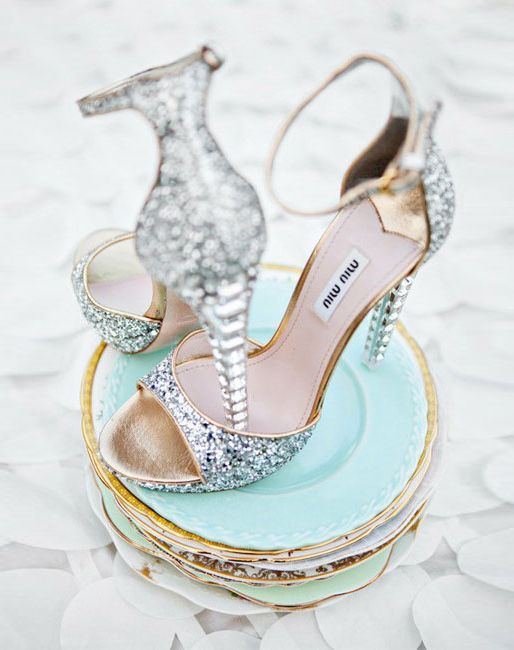 MiuMiu bridal shoes