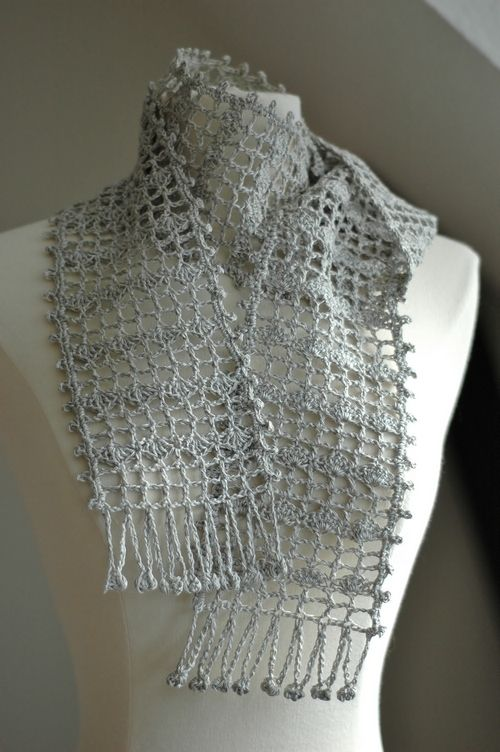 Free Japanese Crochet Patterns In English : japanese crochet scarf lace Crafty Crochet Creations ...