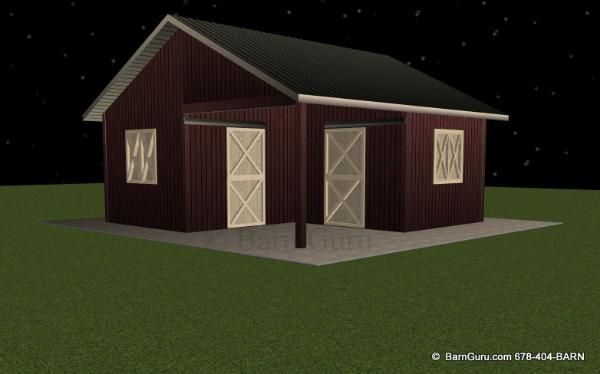 2 stall horse barn design plans for the barn pinterest for 2 stall barn plans