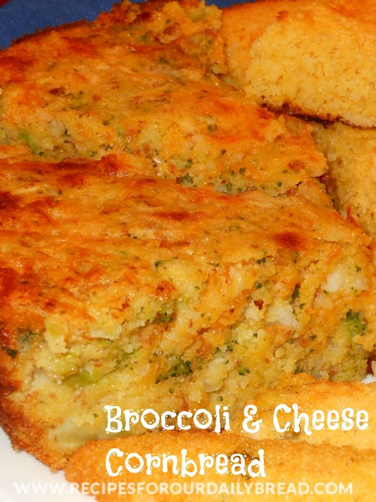 Broccoli & Cheese Cornbread... | Healthy - PP Breads/Crackers/Sandwic ...