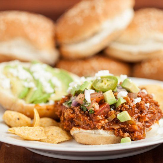 Tex Mex Sloppy Joes. Tender, smoky, and so easy. Perfect for Dads ...