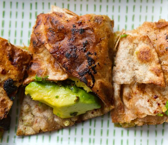 avocado quesadilla #vegan | Sexy Vegan | Pinterest