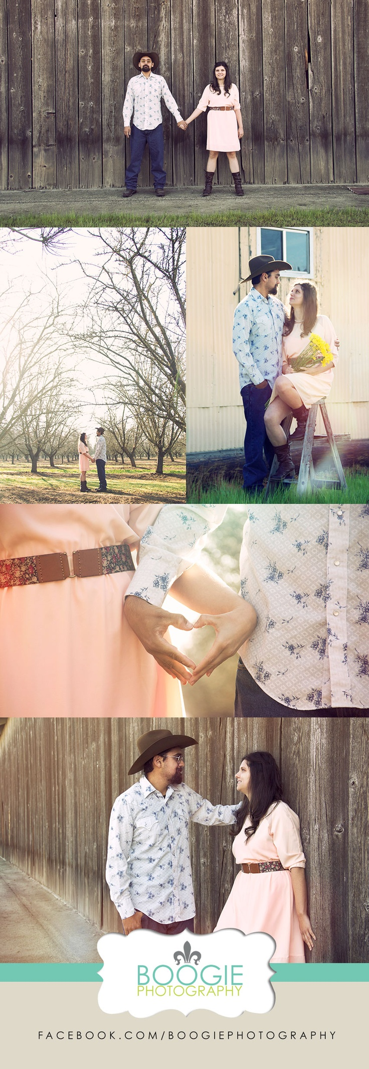 Country Couple Photography Ideas - Viewing Gallery