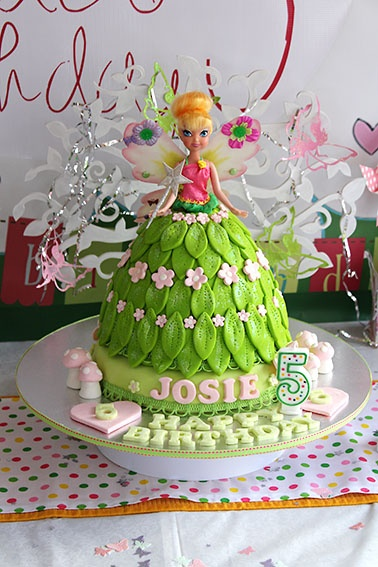 B Day Cake Decoration : Girls B-day Cake Ideas 89776 Tinkerbell Cake B Day Cakes I