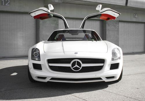 Gull Wing Doors Mercedes Sls Amg My Board Pinterest