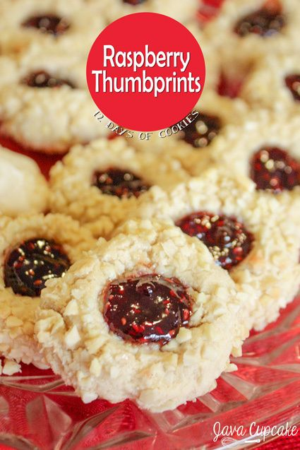 Raspberry Thumbprints | Recipe