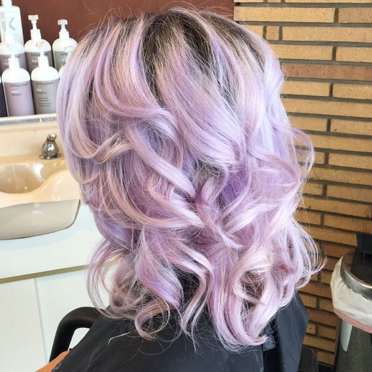 Purple and Blonde Hair Color  Best Off the   pinterestfr