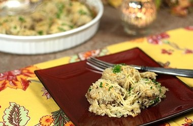 Creamy Mushrooms with Parmesan and Panko — Punchfork