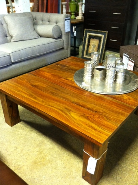 Rosewood Square Coffee Table 42 X 42 X 16