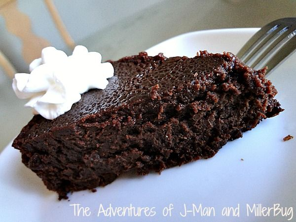Flourless Chocolate Cake 2 | Chef Tansey | Pinterest