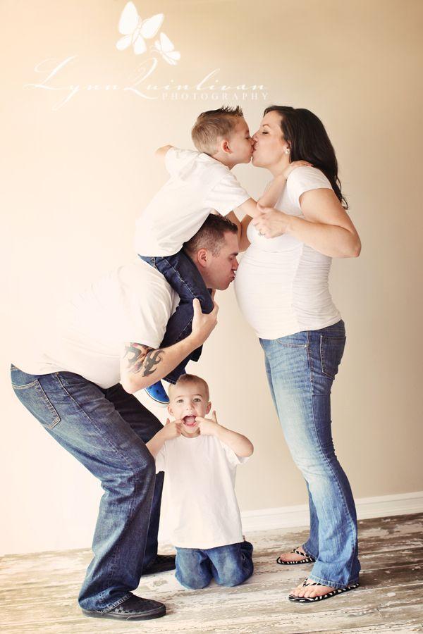 Фото беременных с семьей фото 80