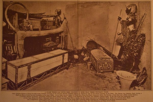 Original Photo of king Tut's tomb - Howard Carter