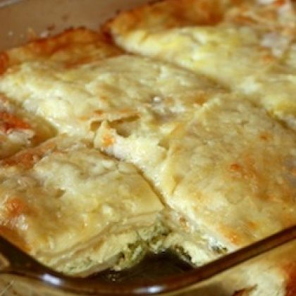Chile Tortilla Egg Bake. A zesty breakfast or brunch dish that's ...