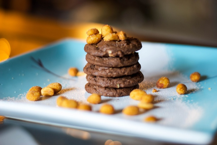 Honey Roasted Peanut Chocolate Cookies | Carrie's Experimental Kitchen ...
